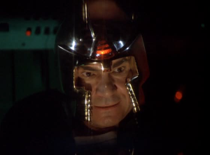 Baltar - Personally Leading the Cylon Attack