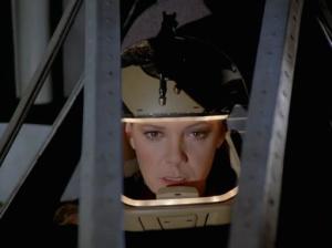 Sheba in Her Pegasus Helmet - In the Same Flight