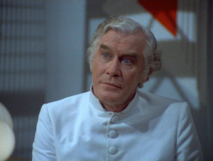 "Edward Mulhare as Devon Miles...err...""John"" the friendly light ship alien."