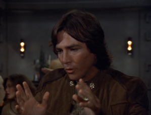 Apollo - Battlestar Galactica's Mary Sue/Gary Stu character.