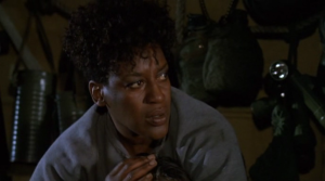 Big Bertha (CCH Pounder).  Strong, fearless, and decisive.  Chances of survival in Sci-Fi?  Slim to none.