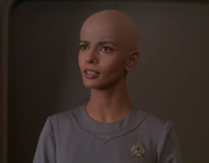 "Lt. Ilia.  Also serves as the base character template for Counselor Troi of ""Star Trek: The Next Generation"""