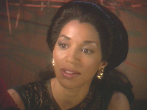 Jennifer Sisko.  Even in the Mirror Universe, she can't seem to catch any kind of break.