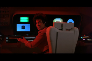 Commander Uhura:  The Ultimate Paradox of this Trope