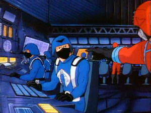 COBRA Soldiers in the Terrordome Control Room