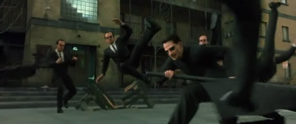 Image result for the matrix neo vs agent smith