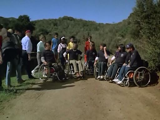 This episode is fully compliant with the Americans with Disabilities Act.  They even have a Token Minority to boot.